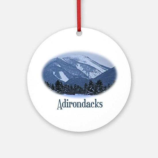 Adirondack Mountains Ornament (Round)