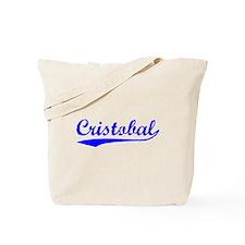 Vintage Cristobal (Blue) Tote Bag