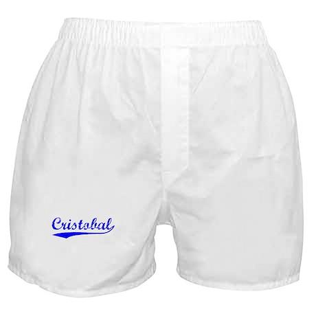 Vintage Cristobal (Blue) Boxer Shorts