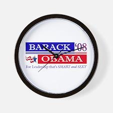 Smart Sexy Obama Wall Clock