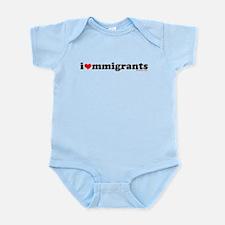 I Heart Immigrants Onesie