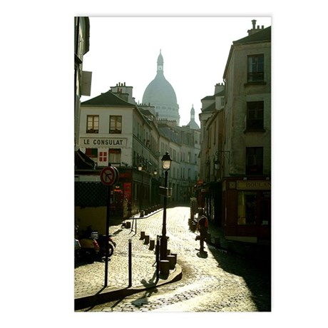 Montmartre Paris Postcards (Package of 8)