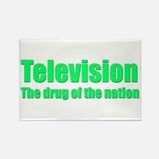 Television; Drug of the Nation! Rectangle Magnet