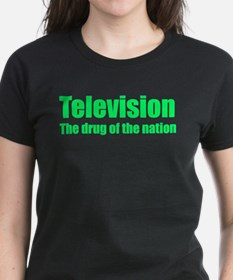 Television; Drug of the Nation Ladies Dark T-Shirt