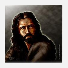 """Salvation's Face"" Tile Coaster"