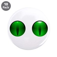 """Glowing Eyes 3.5"""" Button (10 pack)"""