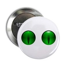 """Glowing Eyes 2.25"""" Button"""