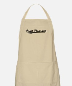 Vintage Point Plea.. (Black) BBQ Apron