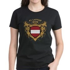 Number One Latvian Mom Tee