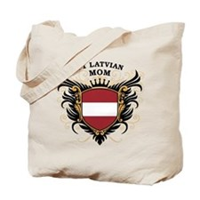 Number One Latvian Mom Tote Bag