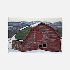 Keene Valley Barn Rectangle Magnet (10 pack)