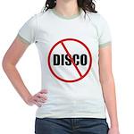 No More Disco Jr. Ringer T-Shirt
