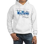 Blue Monday Hooded Sweatshirt