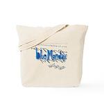 Blue Monday Tote Bag