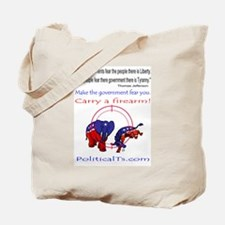 Fear the People Tote Bag