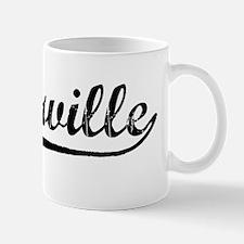 Vintage Porterville (Black) Mug