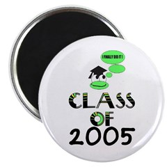 "CLASS OF 2005 GRADUATION 2.25"" Magnet (100 pack)"