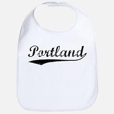 Vintage Portland (Black) Bib