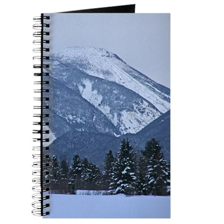 Snow Covered Adirondack Mountain Journal