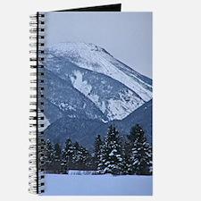 Snow Covered Adirondack Mountain Journal
