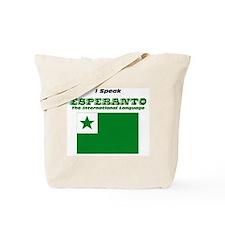 I Speak Esperanto Tote Bag