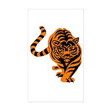 Tiger Rectangle Decal