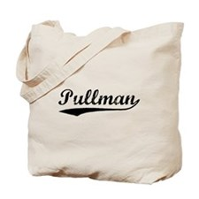 Vintage Pullman (Black) Tote Bag