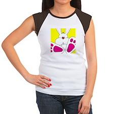 Cute Bunny - Women's Cap Sleeve T-Shirt