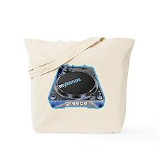 Mykonos Turntable Tote Bag