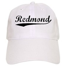 Vintage Redmond (Black) Baseball Cap