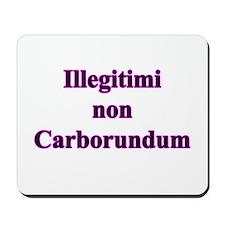 Non Carborundum Mousepad