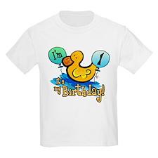 Ducky Birthday 1st T-Shirt