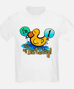 Ducky Birthday 1st T-Shirt
