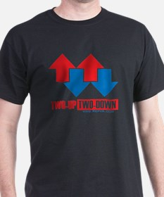 2 up 2 down Arrows T-Shirt