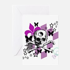Chick Skull Greeting Cards (Pk of 20)