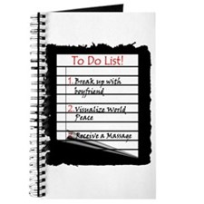 Massage To Do List Journal