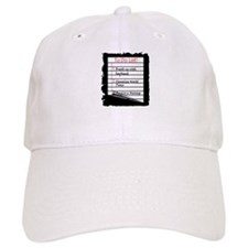 Massage To Do List Baseball Cap