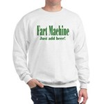 Fart Machine Green Sweatshirt