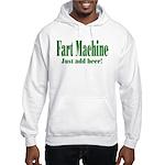 Fart Machine Green Hooded Sweatshirt