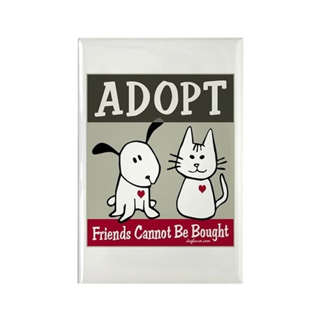Adopt a Pet Rectangle Magnet (10 pack)