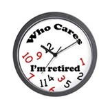 Funny retirement Wall Clocks