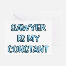 Sawyer is my Constant Greeting Card