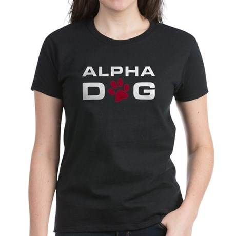 Alpha Dog Women's Dark T-Shirt