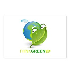 Think Green Postcards (Package of 8)