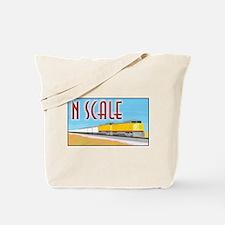 Funny Model trains Tote Bag