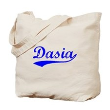 Vintage Dasia (Blue) Tote Bag