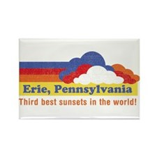 Erie, Pennsylvania Rectangle Magnet