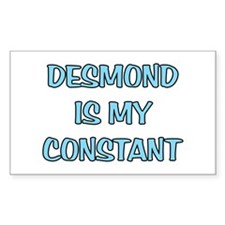 Desmond is my Constant Rectangle Decal