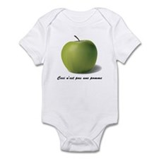 Surrealism René Magritte Appl Infant Bodysuit