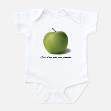 Surrealism René Magritte Appl Infant Bodysuit